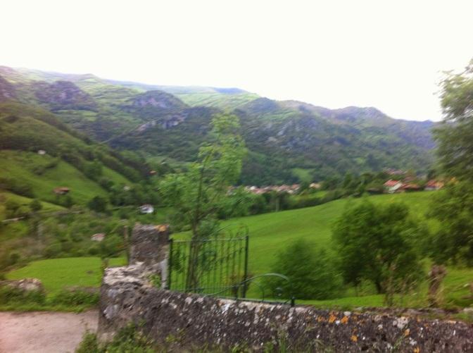 La senda del oso de Asturias en bici