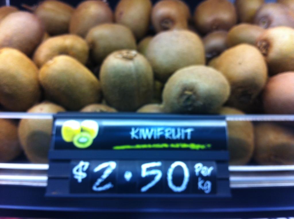 kiwi fruit neozelandes