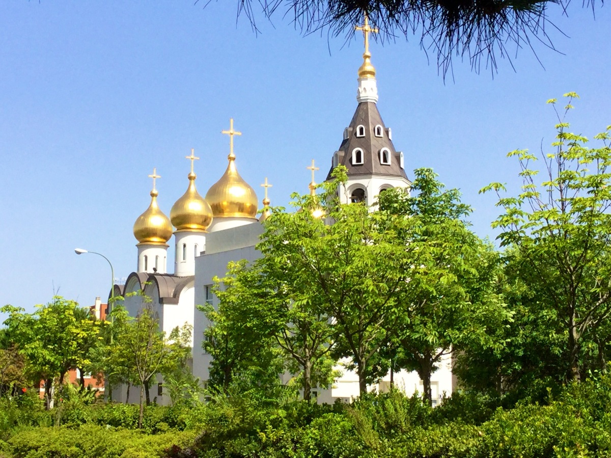 Visita a una iglesia ortodoxa en Madrid