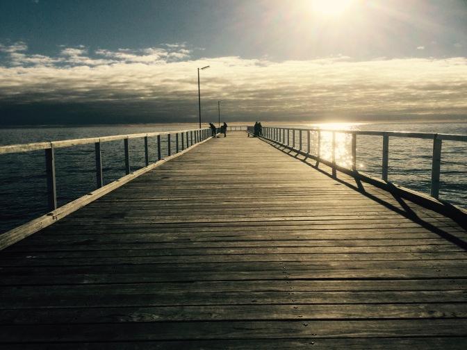 Visita a Semaphore Beach en Adelaide