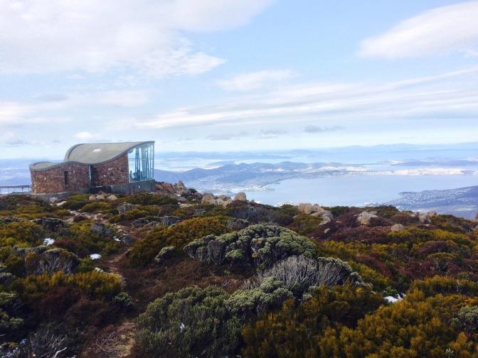 Subida a Mount Wellington, Hobart