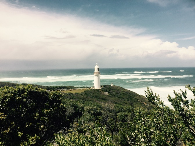 Ruta de faros en Great Ocean Road, Australia