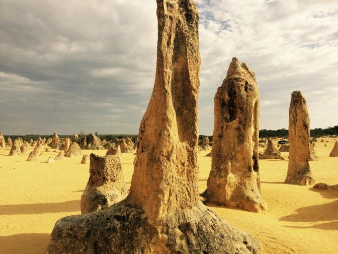 Ruta por los Pinacles y alrededores, en  Western Australia