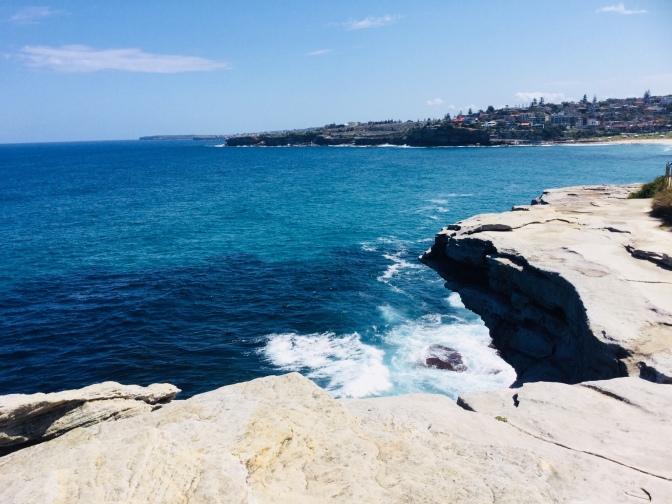 Ruta por la Coast Walk en Sidney, Australia