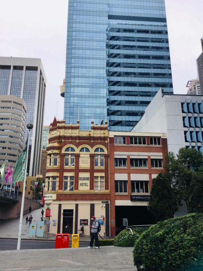 Visita al centro de Sidney, Australia