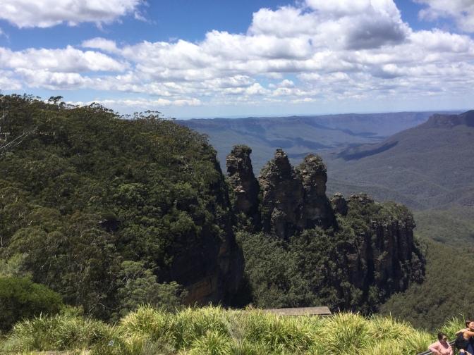 Visita a Blue Mountains, Australia