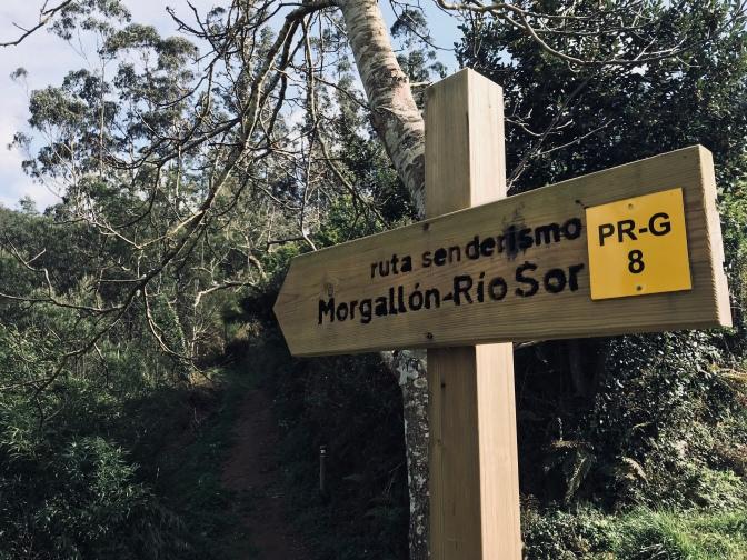 Ruta Morgallon a Río Sor, Lugo